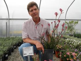 Jon Reelhorn says business is up for his nursery when it comes to drought resistant plant.