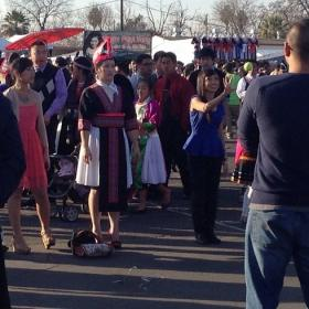 Being Hmong is having the opportunity to practice the tradition of ball tossing at the Hmong New Year. #IamHmong