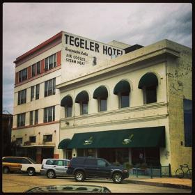 "Tegler Hotel building in downtown Bakersfield is one of the sites old-timers recall as being part of a network of connected basements or ""tunnels"""