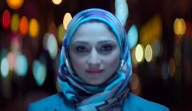 A screen capture from the Coca-Cola Superbowl ad
