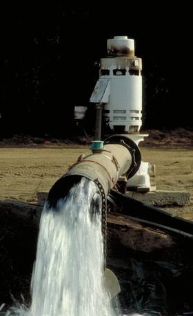 Pumping of groundwater in the San Joaquin Valley could be influencing seismic activity in California. (file photo)