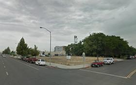 The site of the Bastian Court project at Stanislaus and L Streets is now an empty lot.
