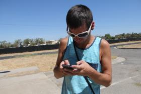 Daniel Galindo is a Google connoisseur. He says tech is second nature for him because technology has grown up with him.