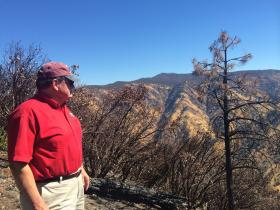 Randy Hanvelt travels to the place where the fire began - the Clavey River canyon.