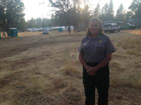 Kelly Martin says large-scale fires may become new normal in the Sierra Nevada.