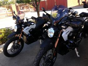 The fleet of five is ready to go and will be used for all sorts of events and patrols in Clovis. Fresno is also looking to acquire electric motorcycles as well.