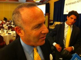 Senate President Darrell Steinberg says the exact amount for a revised water bond is still up for debate. (file photo)