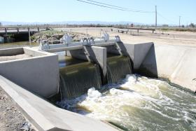 The San Luis Canal in Merced County (file photo)
