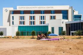 Soon, Clovis Community Medical Center will be irrigating its grounds with recycled water