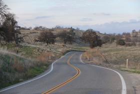 Raymond Road in eastern Madera County (file photo)