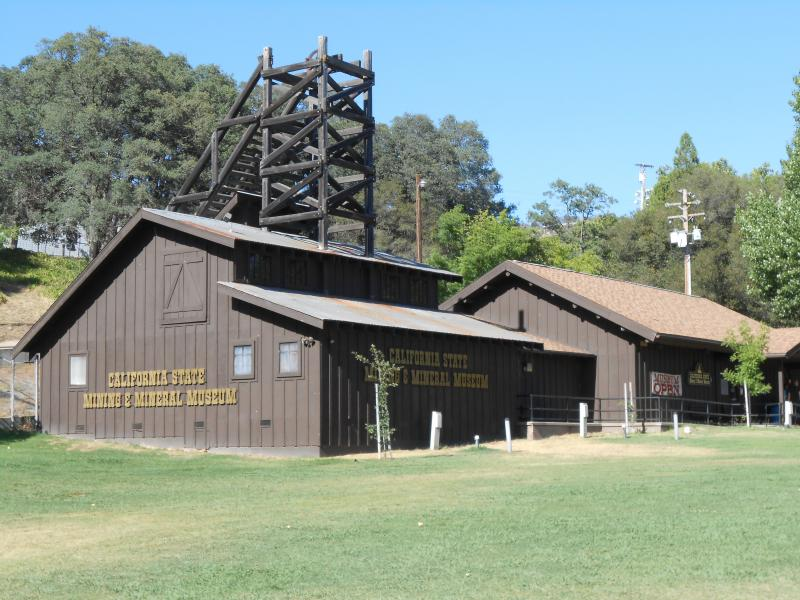 The California State Mining and Mineral Museum is located on Highway 49 in Mariposa.