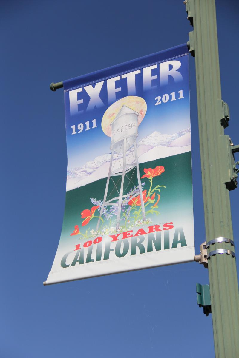 Exeter celebrates its centennial this year