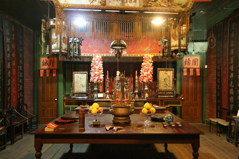 The Taoist Temple at Hanford's China Alley