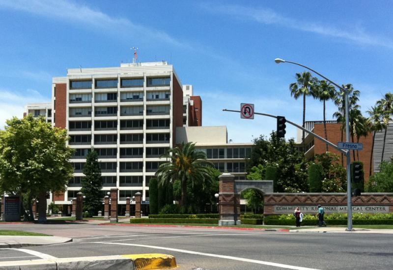 Community Regional Medical Center in downtown Fresno
