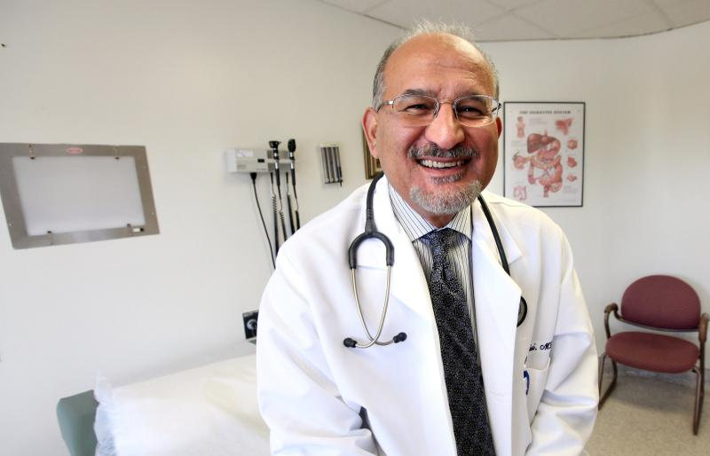 Dr. Yakdan Al Qaisi had a bad case of valley fever after arriving in Bakersfield a few years ago.