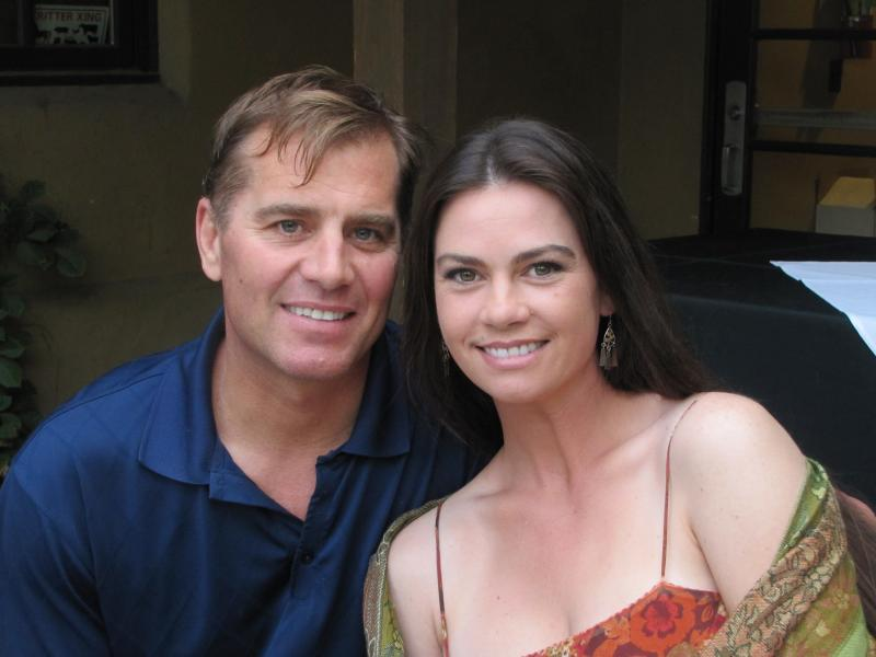 Todd Schaefer, pictured with his wife Tammy Schaefer, has had disseminated coccidioidomycosis, and fungal spinal meningitis for almost 9 years now.