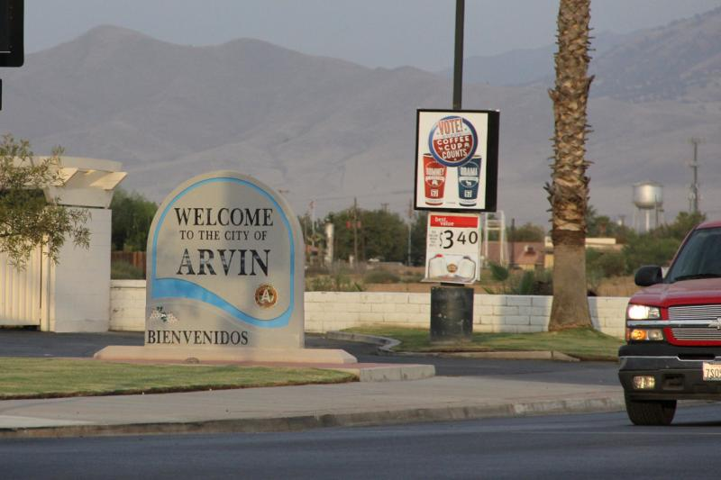 The small community of Arvin has some of the worst air in the nation.
