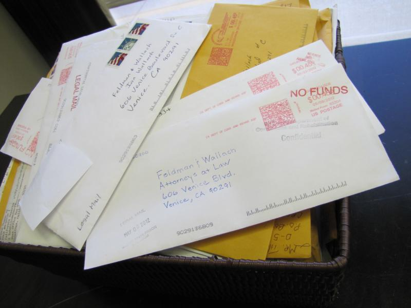 Lawyers Jason Feldman and Ian Wallach have received hundreds of letters, e-mails and voice mails from inmates with valley fever seeking help.