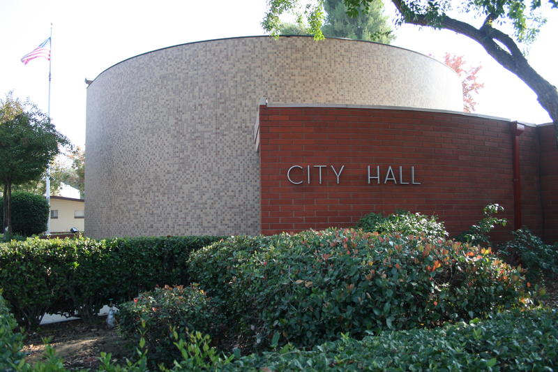 City Hall in downtown Visalia