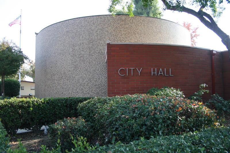 City Hall in downtown Visalia
