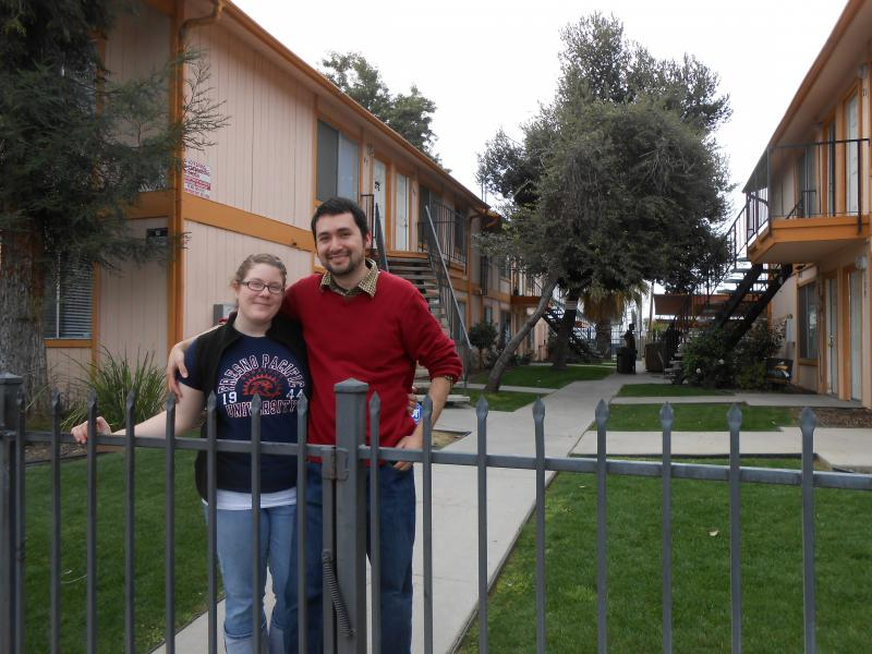 Sergio and Ashley Cortes are starting a multimedia organization called 'No More Slumlords.'