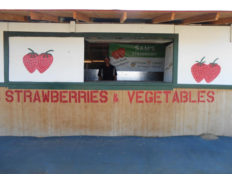Pao Saephan's roadside strawberry stand should open this weekend. It's located at Manning Avenue and I Street in Reedley.