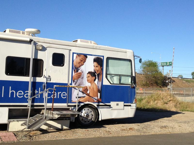 Golden Valley Health Center's mobile health clinic provides care to Merced's homeless.