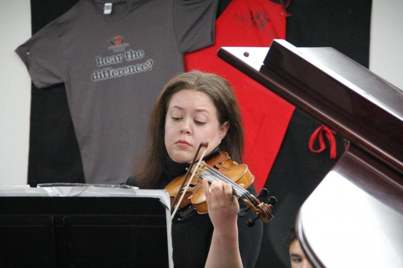 Erin Scofield performs on Young Artists Spotlight