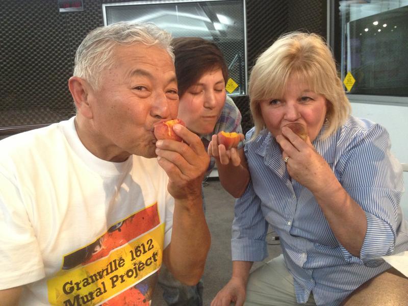 Mas, Nikiko and Marcy Masumoto