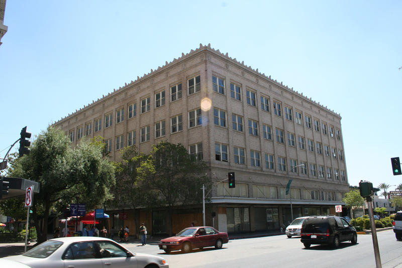The building was constructed in 1924 to house the Radin & Kamp department store (file photo)