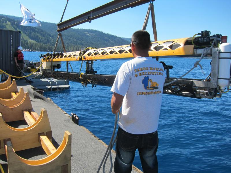A robotic submarine in Lake Tahoe was supposed to study the deepest earthquake fault line… but not every experiment works out as planned.