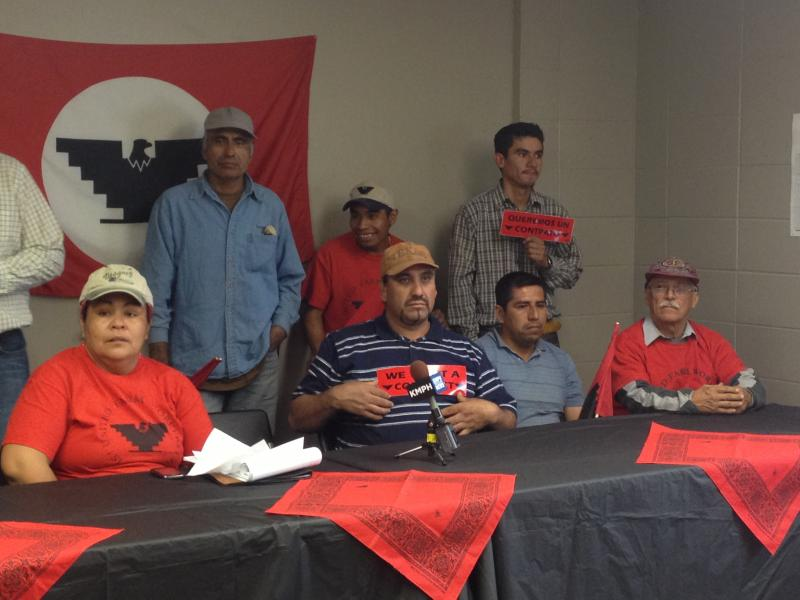 With the support of the United Farm Workers, these employees have been negotiating a contract with Gerawan Farming.