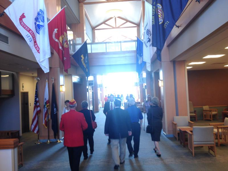 Tours were given at the grand opening of the facility.