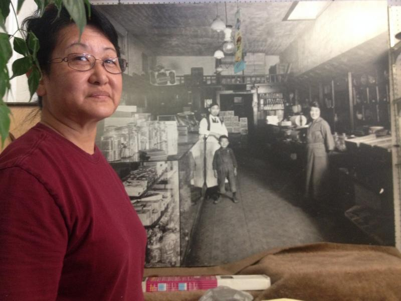 Lynn Ikeda runs her family's 98-year-old business, Kogetsu-Do.