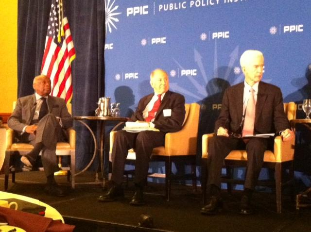Three former leaders of California's three branches of government disagree about whether the state's direct democracy process is serving voters well, but they all agreed on one way to improve it at a Public Policy Institute of California panel.