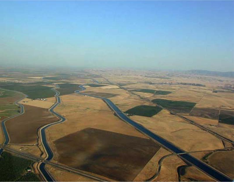 The Delta Mendota Canal