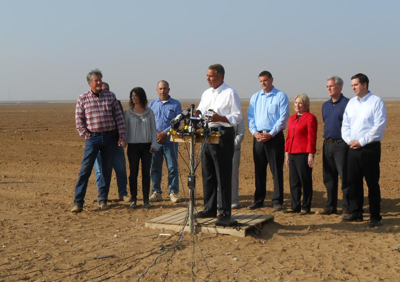 House Speaker John Boehner is calling for emergency legislation in response to California's drought