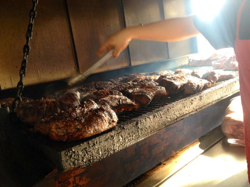Matt Billingsley, the general manager of Dog House Grill, says the eatery cooks up 1,200 pounds of tri-tip daily.