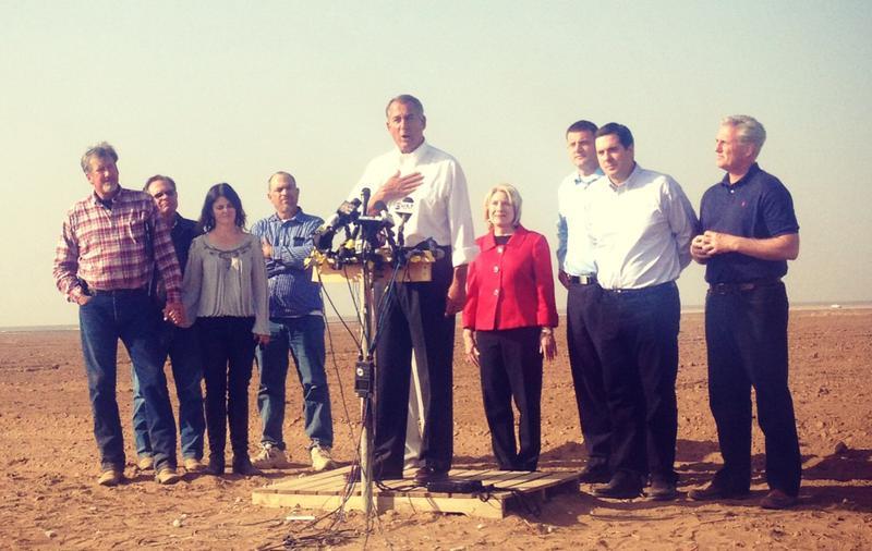 House Speaker John Boehner is calling for emergency legislation in response to California's drought