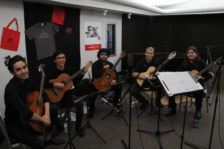 Fresno City College Guitar Quartet