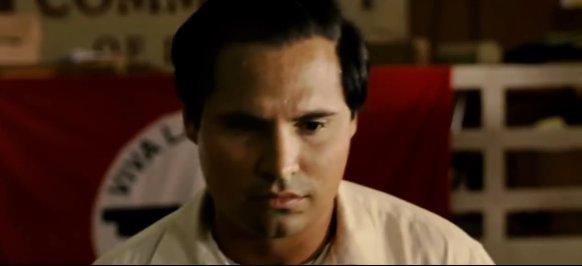Michael Pena plays the late farm labor leader Cesar Chavez in Diego Luna's new biopic