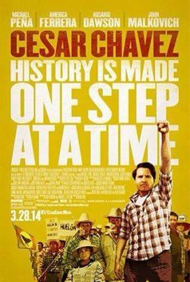 "Diego Luna's film ""Cesar Chavez"" opens in theatres nationwide on March 28"