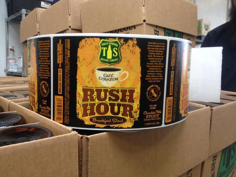 Rush Hour is Morphew's coffee infused beer creation.