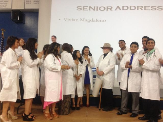 Twentyone students graduated from Caruthers High School this year throught the Doctors Academy.