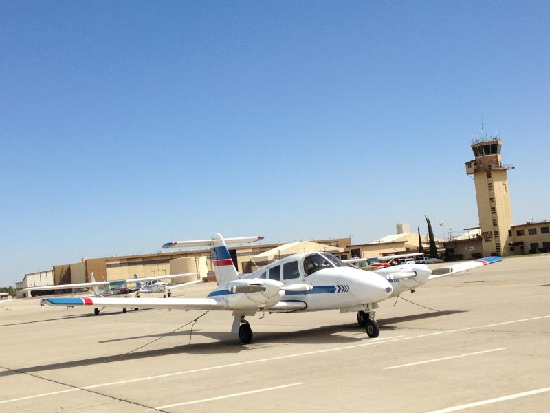 Merced County hopes to turn the airport at the base into a heavily used entity.