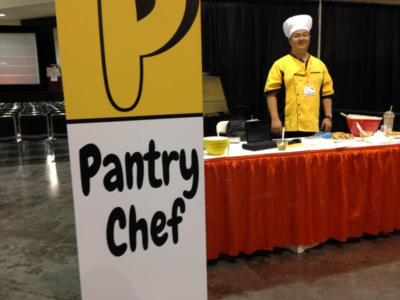 Pantry Chef among dozens of other tech vendors attended the last 59 Days of Code event.