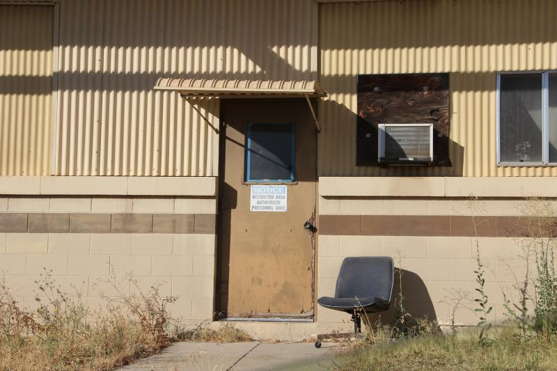 Over 40 buildings were torn down when Merced County bought the base, the remaining are waiting for tenants or rennovation.
