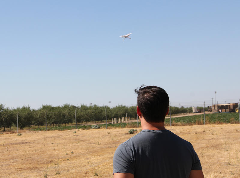 Brendan Smith, a PHD student at UC Merced, is creating a drone that will take water samples from rivers and other bodies of water.