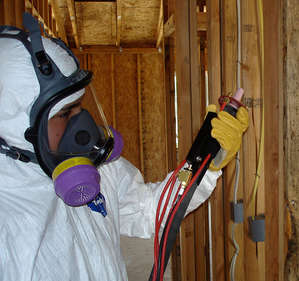 Katch Environmental recently hired 24 men to work on lead and asbestos removal along the High Speed Rail Corridor
