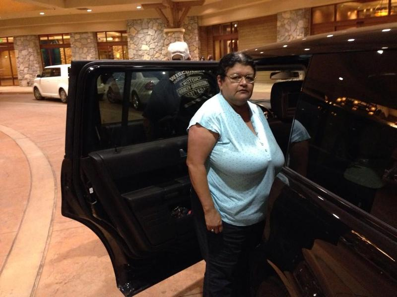 Jenny Reyes arrived Friday at the Chukchansi Gold Resort and Casino only to find it closed.